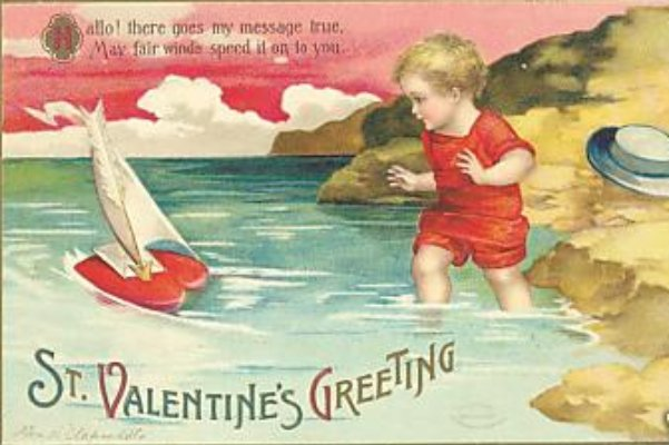 Clapsaddle Valentine card O