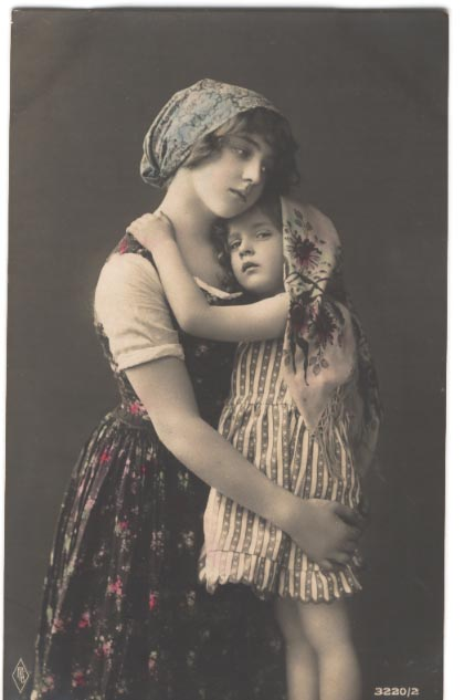 Vintage Ladies Cabinet Cards (159)