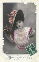 Vintage Ladies Cabinet Cards (10)
