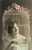 Vintage Ladies Cabinet Cards (100)