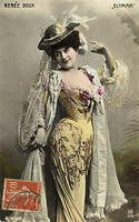 Vintage Ladies Cabinet Cards (104)