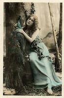 Vintage Ladies Cabinet Cards (106)