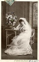 Vintage Ladies Cabinet Cards (110)