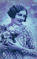 Vintage Ladies Cabinet Cards (113)