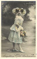 Vintage Ladies Cabinet Cards (122)