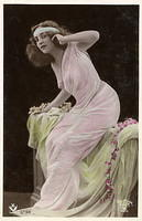 Vintage Ladies Cabinet Cards (126)