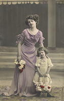 Vintage Ladies Cabinet Cards (140)