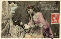 Vintage Ladies Cabinet Cards (15)