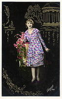 Vintage Ladies Cabinet Cards (168)