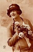 Vintage Ladies Cabinet Cards (185)