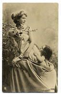Vintage Ladies Cabinet Cards (189)