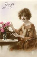 Vintage Ladies Cabinet Cards (20)