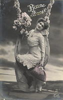 Vintage Ladies Cabinet Cards (202)