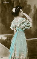 Vintage Ladies Cabinet Cards (203)