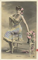 Vintage Ladies Cabinet Cards (213)