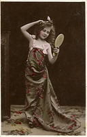 Vintage Ladies Cabinet Cards (220)