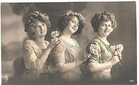 Vintage Ladies Cabinet Cards (222)