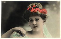 Vintage Ladies Cabinet Cards (228)