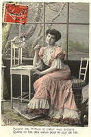 Vintage Ladies Cabinet Cards (265)
