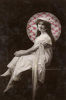 Vintage Ladies Cabinet Cards (270)