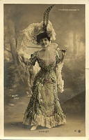 Vintage Ladies Cabinet Cards (272)