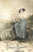 Vintage Ladies Cabinet Cards (28)