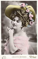 Vintage Ladies Cabinet Cards (281)