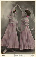 Vintage Ladies Cabinet Cards (294)