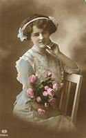 Vintage Ladies Cabinet Cards (309)