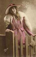 Vintage Ladies Cabinet Cards (310)