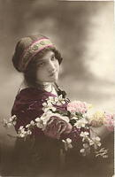 Vintage Ladies Cabinet Cards (313)