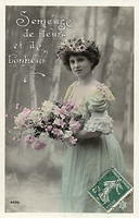 Vintage Ladies Cabinet Cards (34)