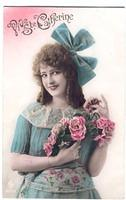 Vintage Ladies Cabinet Cards (50)