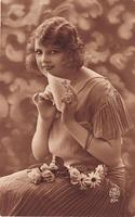 Vintage Ladies Cabinet Cards (9)
