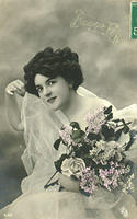 Vintage Ladies Cabinet Cards (98)