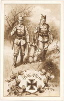 3415876982 543fcb25f7 WWI POW Easter Bunny - Frohe Ostern Merry Easter sepia postcard O