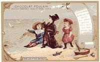 3309711510 3964c0ea53 Old French trade card Poulain Chocolate O