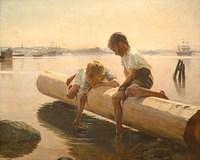 3997940618 c300520c65 The Little Boat - Artist Albert Edelfelt 1884 O