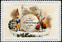 4188621368 4ac1f1c27d MERRY XMAS TO YOU VINTAGE CARD x