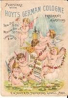 Victorian Trade Card - Hoyt s German Cologne O