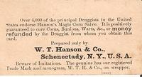 Victorian Trade Cards - Hanson s Magic Corn Salve O